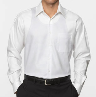 Q A: What's the best undershirt under a dress shirt? · Effortless Gent
