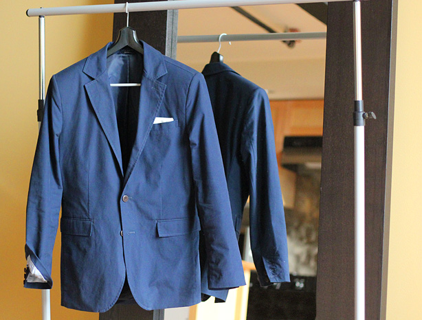 LL Bean Plain Weave suiting jacket