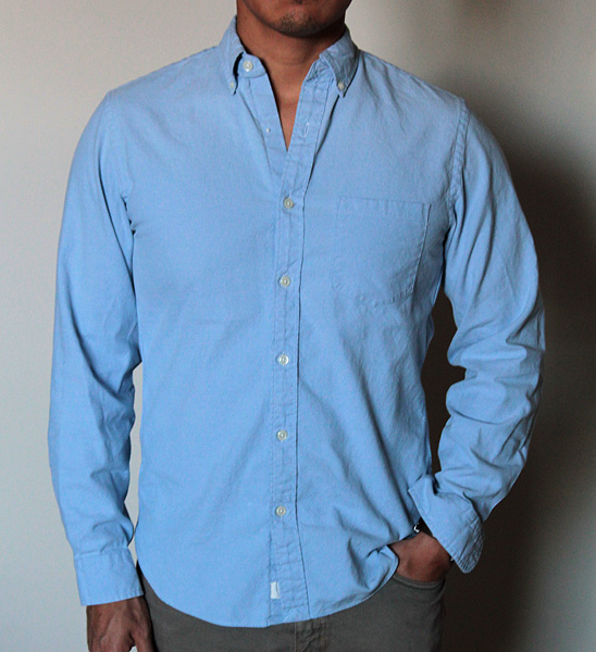 full oxford shirt