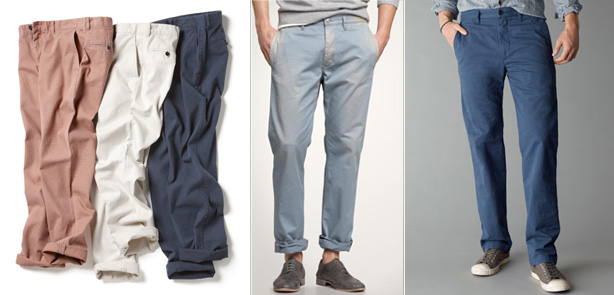 chinos for summer - effortlessgent.com