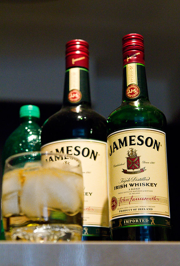 jameson and ginger on Effortless Gent