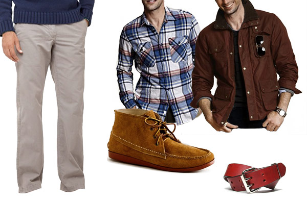 Refined Casual Getting Your Grown Man On Outside The