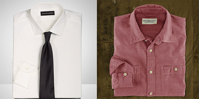 back to basics the difference between a dress shirt and a