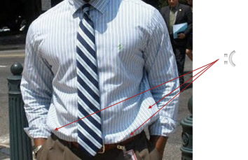 The perfect fit dress and sport shirts effortless gent for Dress shirt fitted vs slim