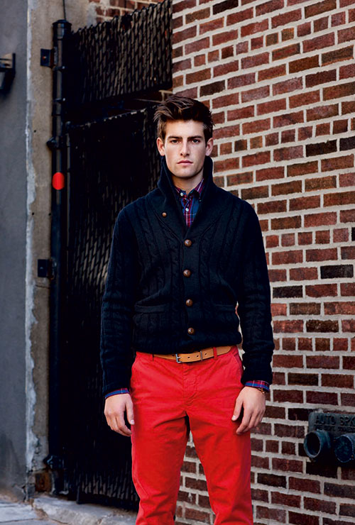 Get into it brightly colored pants effortless gent for What to wear with a red shirt